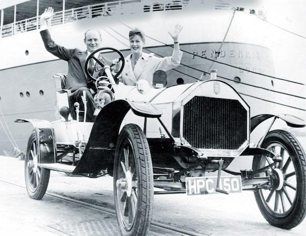 Lord Montagus parents in the Humber