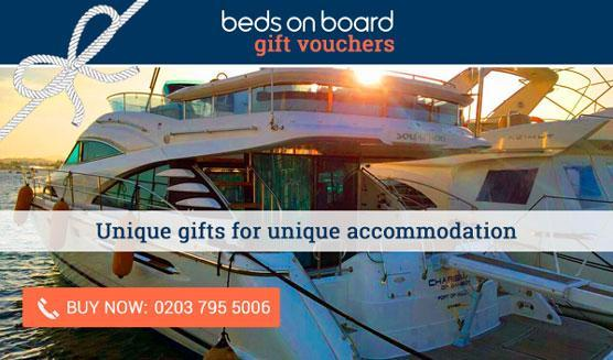 Beds on Board gift vouchers