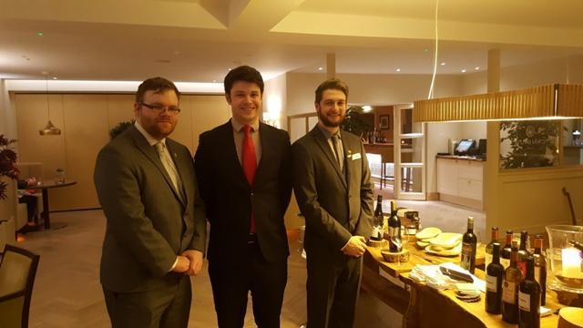cambium restaurant careys manor - the management