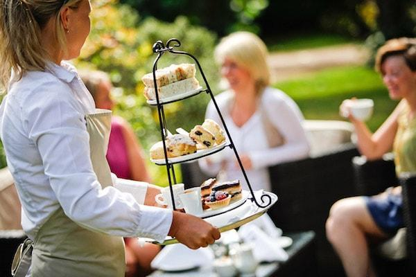 Enjoy a traditional afternoon tea in the New Forest
