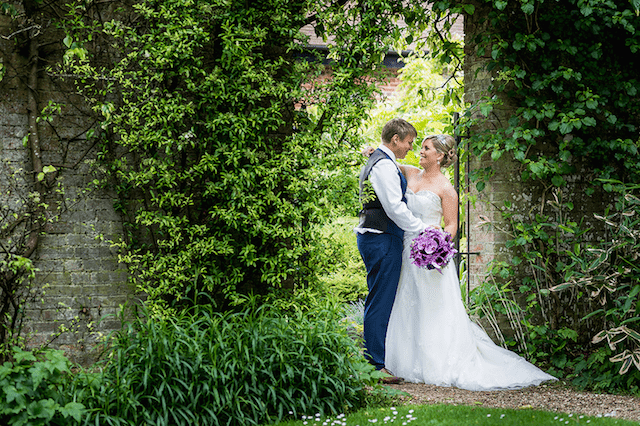 Enjoy the gardens during your wedding at Careys Manor Hotel
