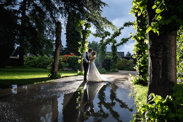 Weddings at Careys Manor in the New Forest, come rain or shine