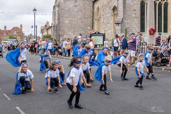 New Forest Academy of Dance at Lymington Carnival 2019