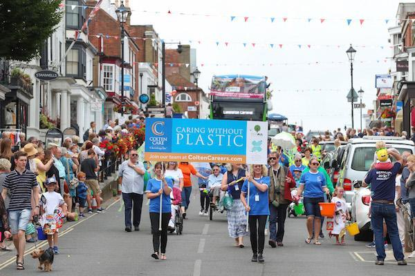 Saving the Planet at Lymington's 2019 Carnival!