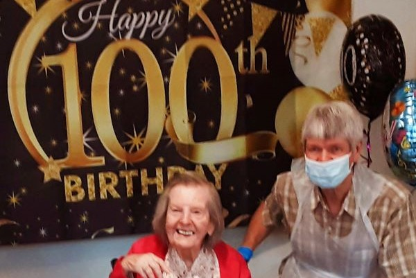 100 birthday party
