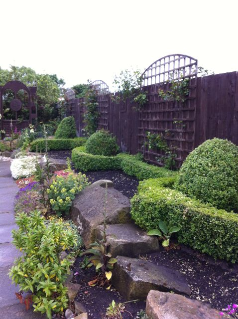 A strong design underpins the garden