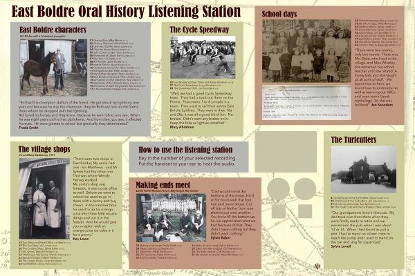 East Boldre oral history project