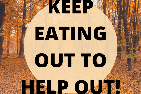 Keep eating out to help out