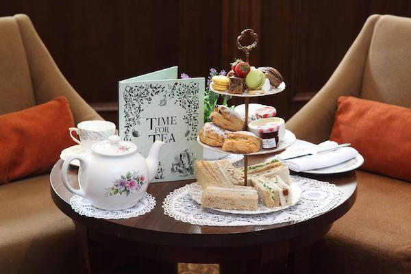 Traditional Afternoon Tea at Elmers Court Lymington