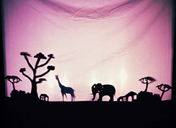Shadow Puppetry at Forest Forge Theatre