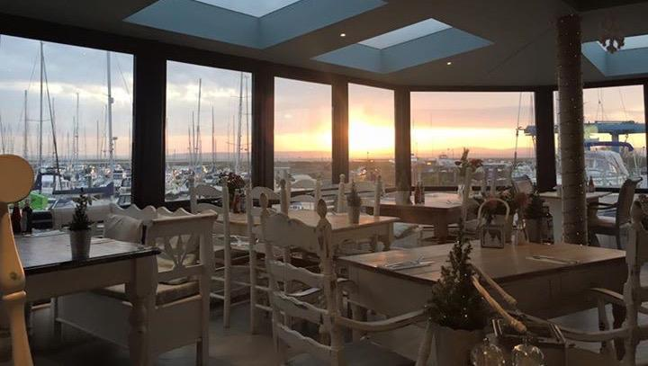 Spectacular sunsets and views from the Haven Restaurant
