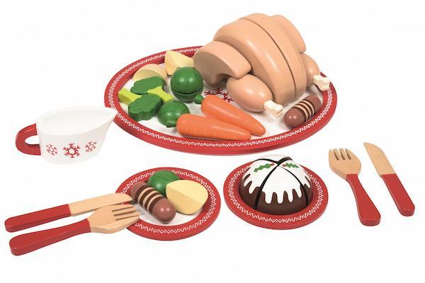 Christmas Dinner Set JoJo Maman Bebe Cut Out 600x400