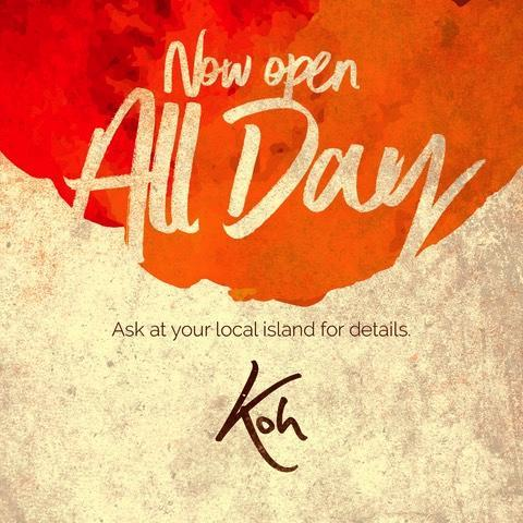 Koh Thai open all day