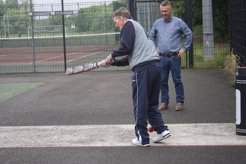 Cage Cricket for people living with dementia