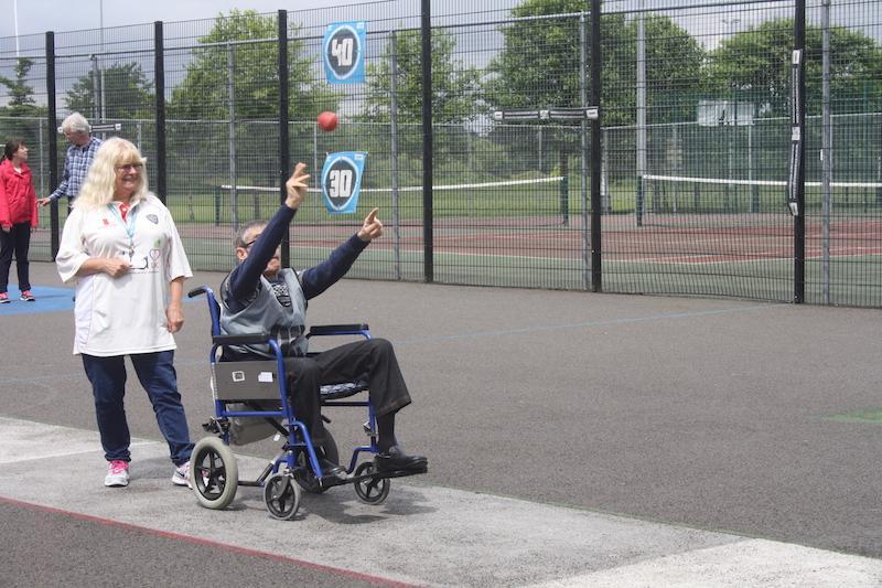 Cage cricket for dementia sufferers