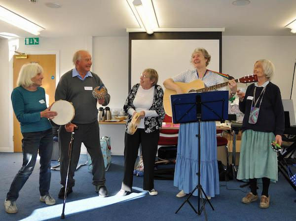 Frances Attwood Music groups for dementia