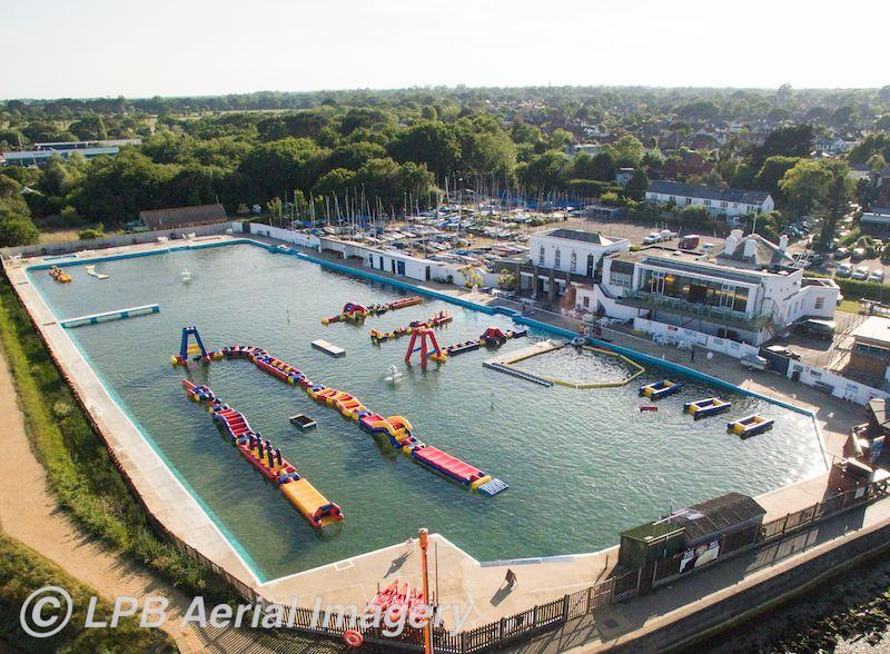 lymington sea water baths is now open for the summer season!