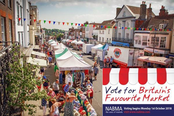 Vote for Lymington in the Great British Market Awards!