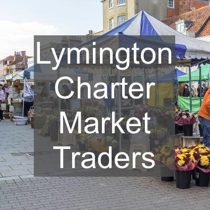 Lymington Charter Market directory of traders