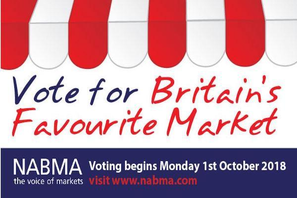 Great British Market Awards - vote for Lymington Charter Market