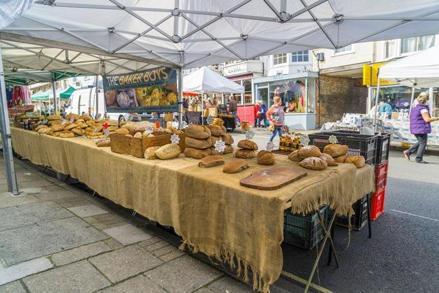 lymington pennington town council charter market breads