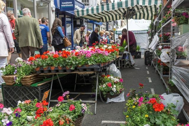 lymington pennington town council charter market plants