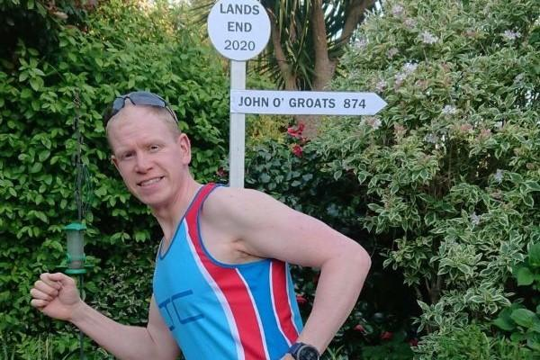 Lymington Tri Club running for Basics Bank