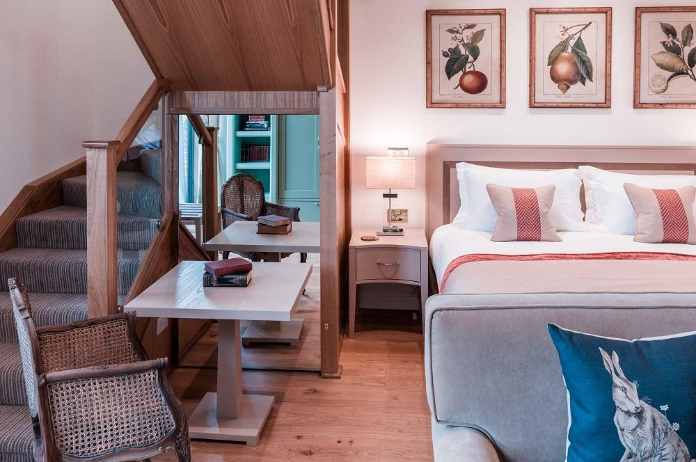 Hay Loft Suites at the Montagu Arms Hotel in Beaulieu New Forest
