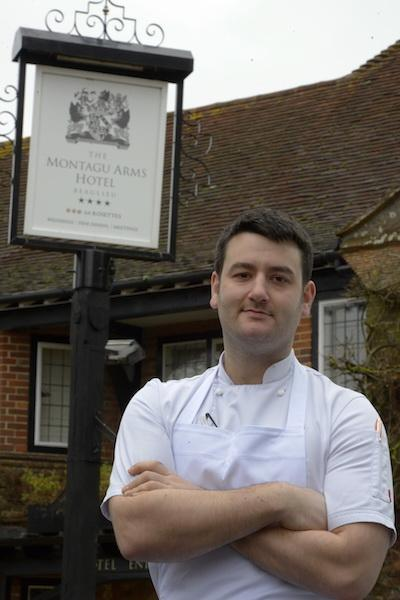 Matthew Whitfield new Head Chef at The Montagu Arms Beaulieu New Forest