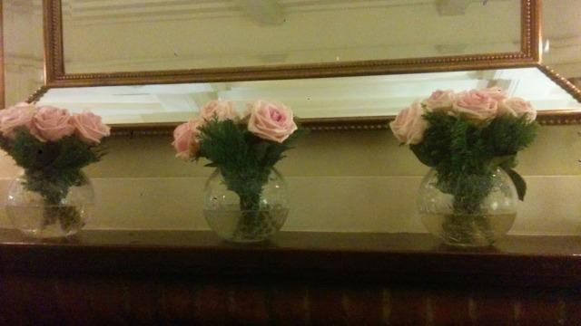 montagu arms beaulieu pink roses november