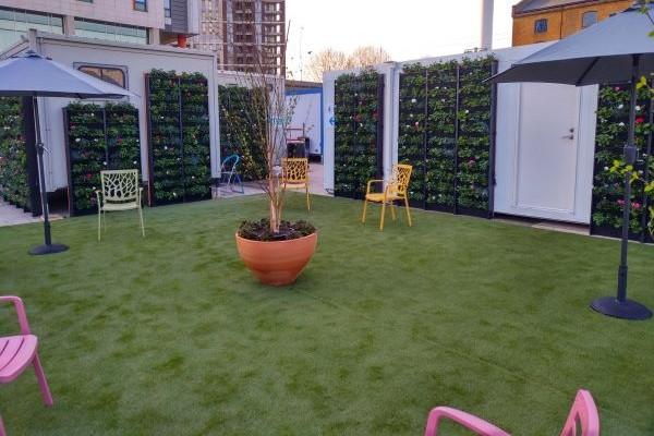 Namgrass artificial grass at Nightingale Hospital