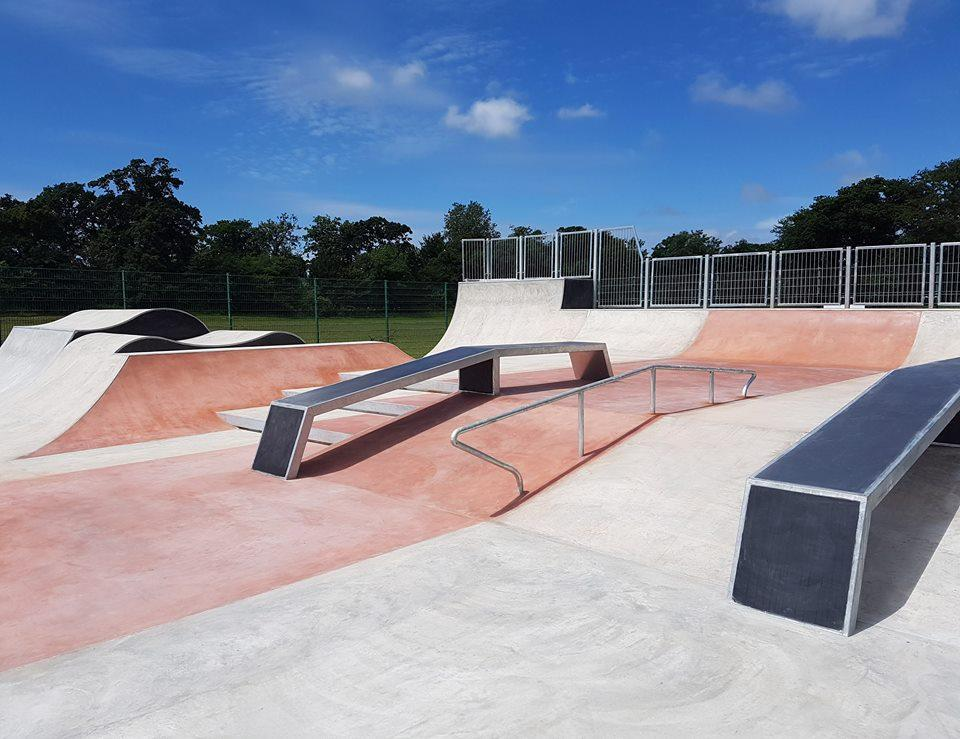 Lymington's new skate park is open!