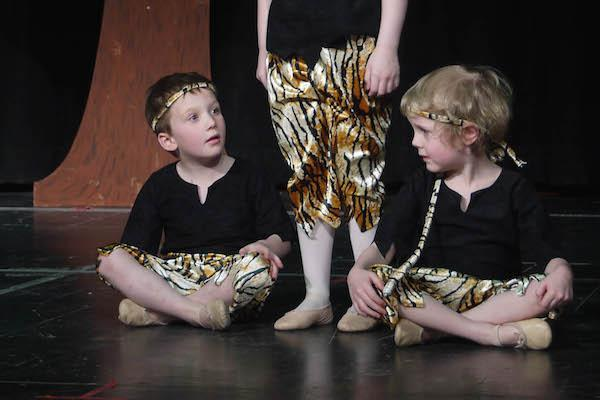Drama Tots at New Forest Academy of Dance