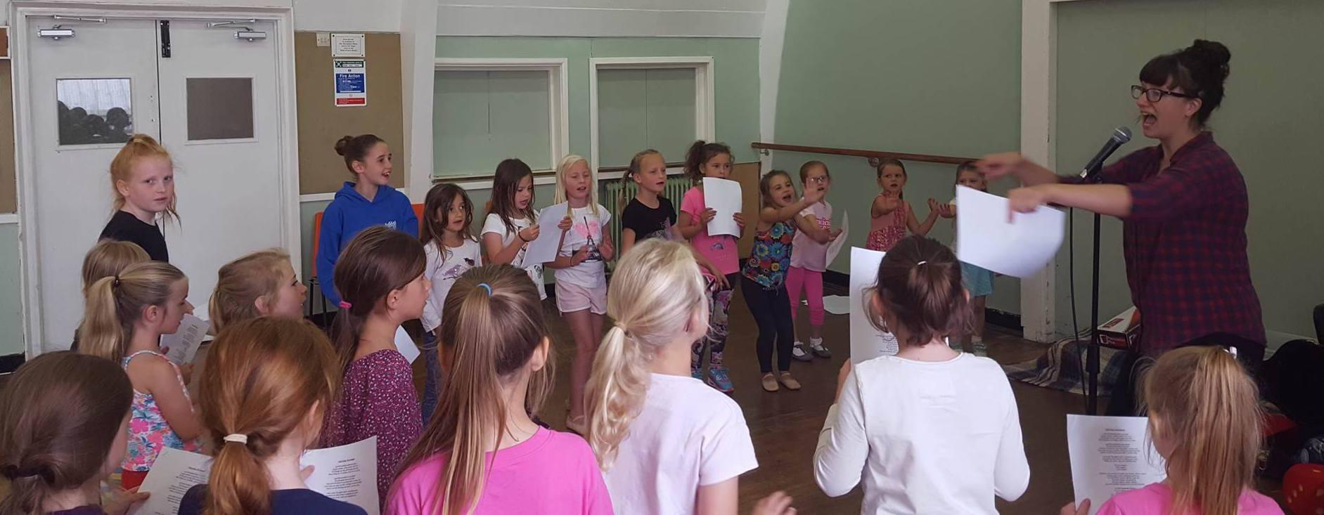 Musical theatre classes at New Forest Academy of Dance