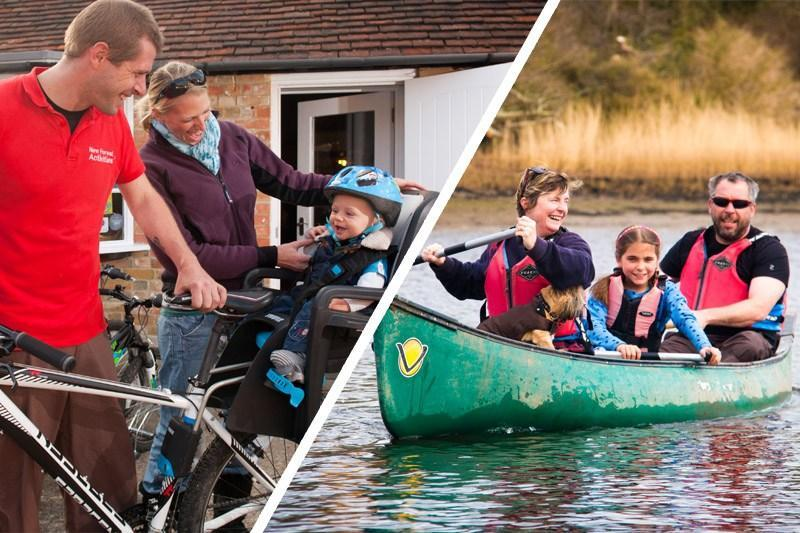 Family Adventure Day with New Forest Activities