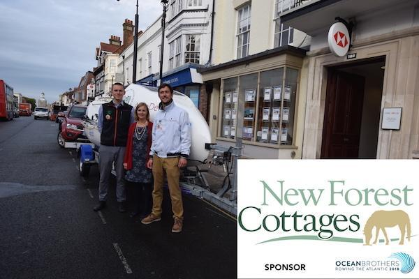 New Forest Cottages sponsored Lymington's Ocean Brothers