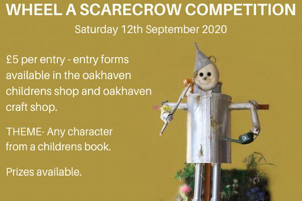 Make a fun scarecrow in aid of Oakhaven Hospice!