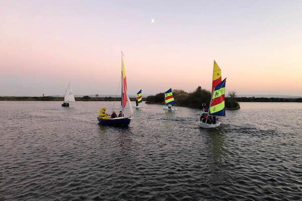 Salterns 20th Sailathon finished at 4.30pm on Saturday 17 November 2018