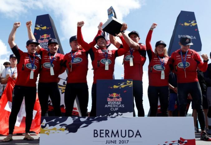 Lymington's Sam Batten wins Youth America's Cup