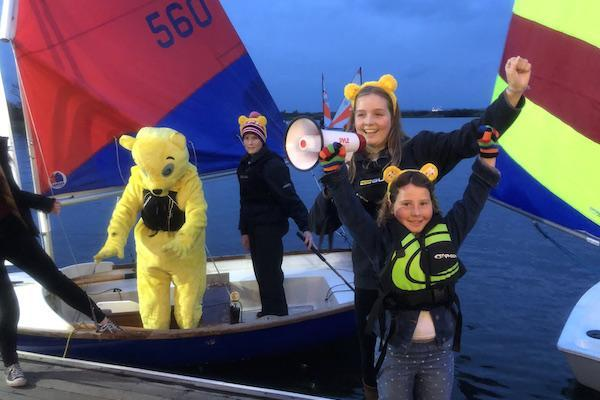 Salterns children's 24 hour sail raised over £8,250 for Children in Need!