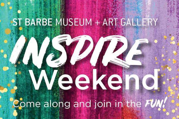 Inspire Weekend at St Barbe Museum & Art Gallery