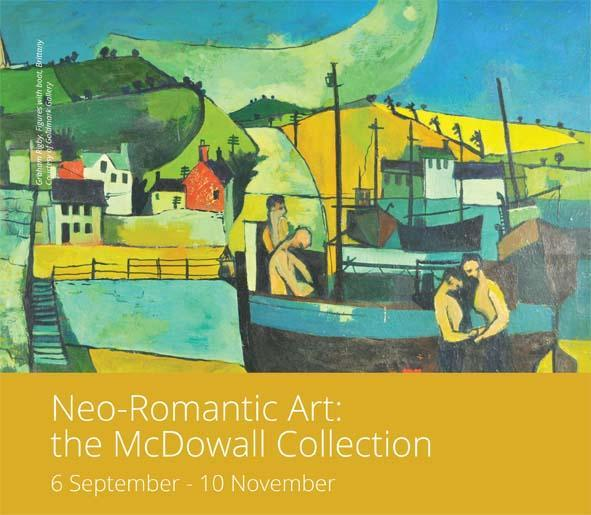 neo romantic art exhibition st barbe museum and art gallery