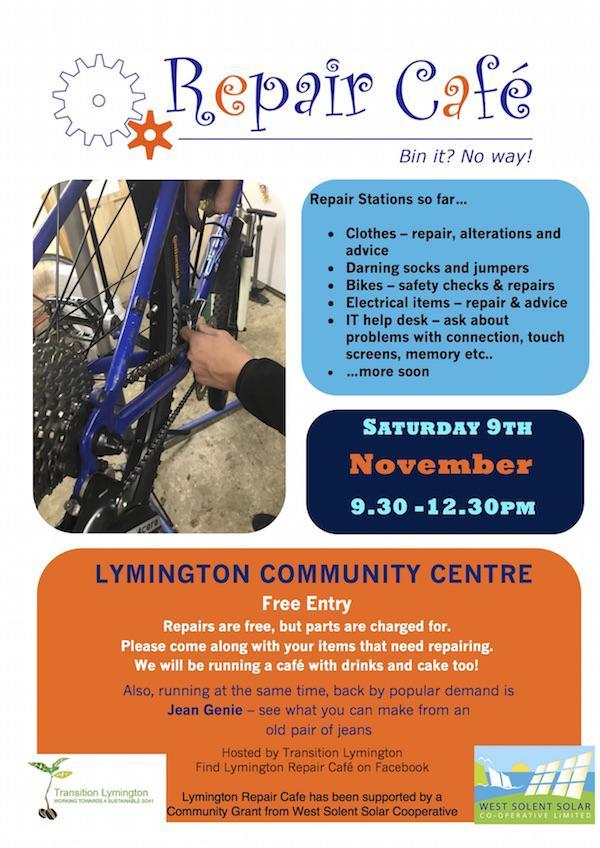 Repair Cafe Lymington