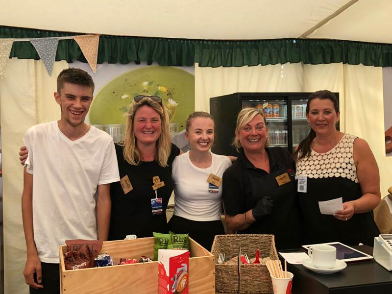 new forest show 2018 THE APPETITE FOR ADVENTURE TEAM