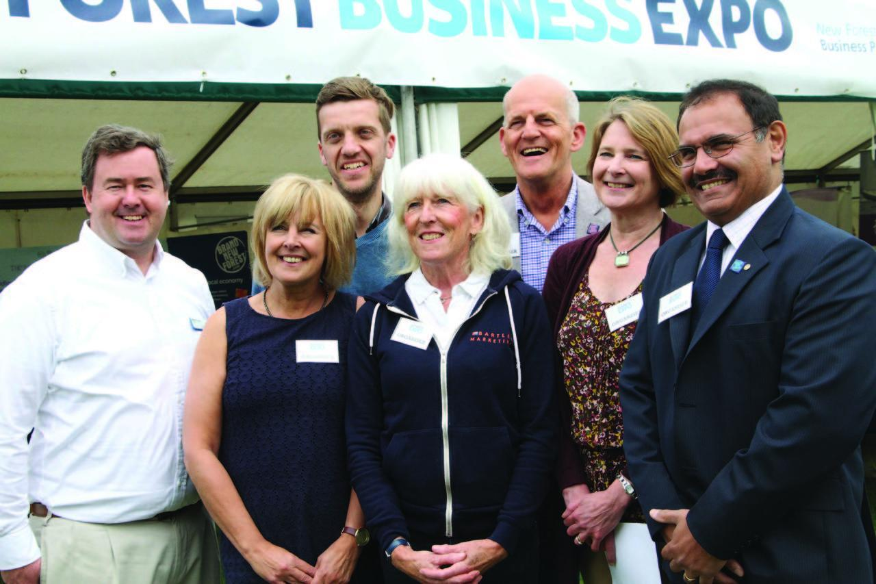 New forest business expo 2016 organisers