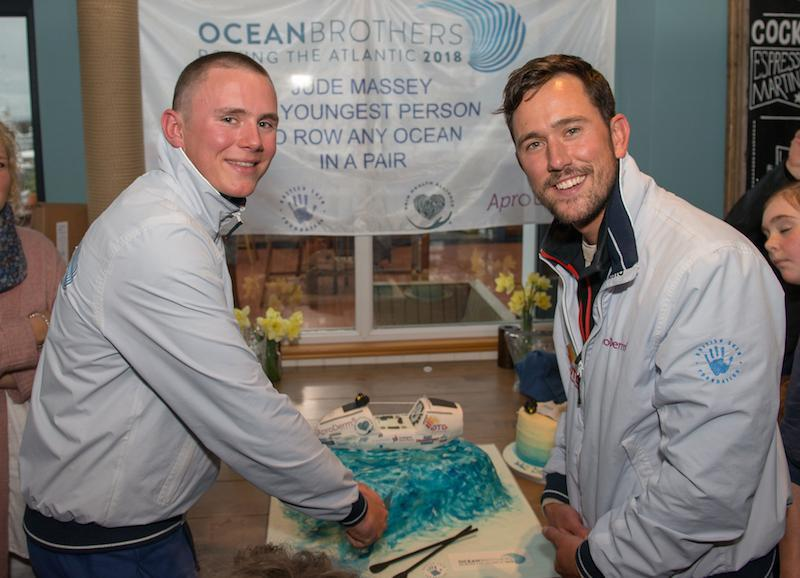 Photo Credit: Adam Lynk Ocean Brothers with homecoming cake