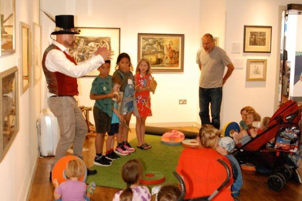 St Barbe museum and art gallery reaching further to the community:  storytelling