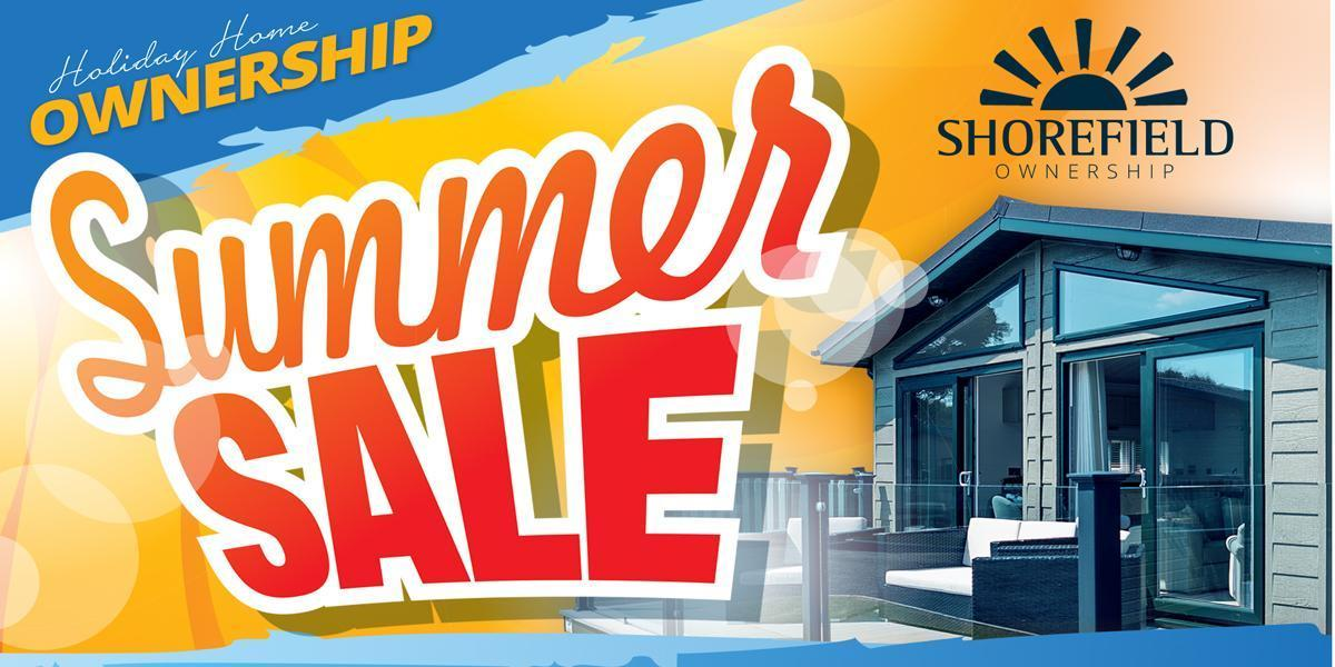 shorefield holidays summer sale 2019
