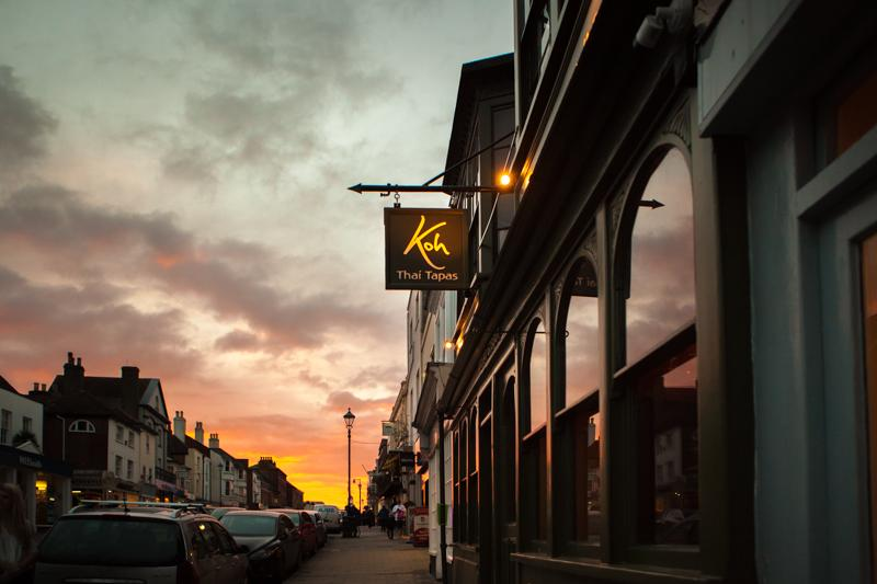 koh thai lymington exterior