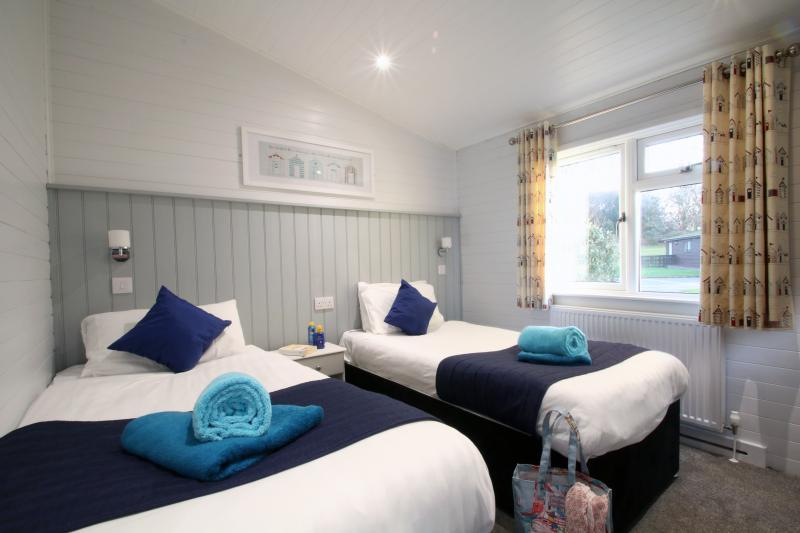 Select+ and Superior+ lodges at Shorefield Country Park
